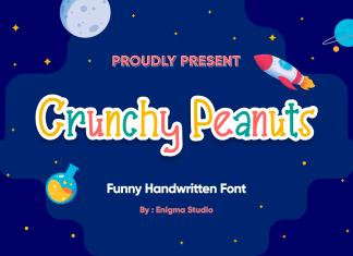 Crunchy Peanuts Display Font