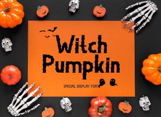 Witch Pumpkin Display Font