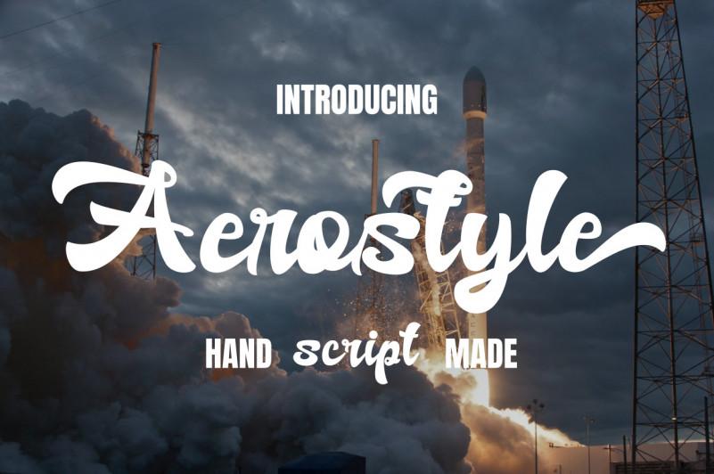 Aerostyle Font