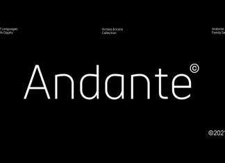 Andante Sans Serif Font