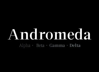 Andromeda Serif Font