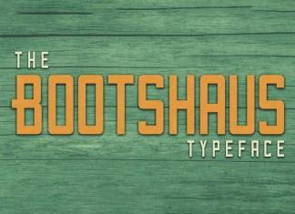 Bootshaus Sans Serif Font