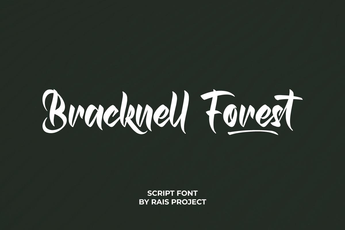 Bracknell Forest Font