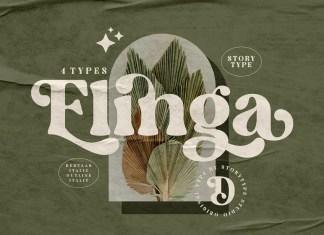 Elinga Serif Font