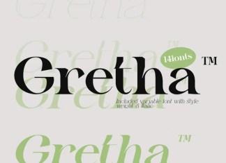 Gretha Serif Font