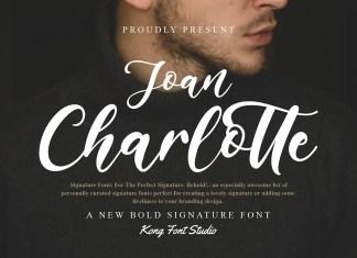 Joan Charlotte Script Font