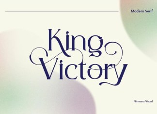 King Victory Serif Font