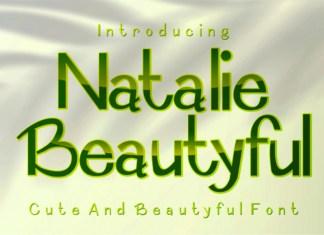 Natalie Beautyful Display Font