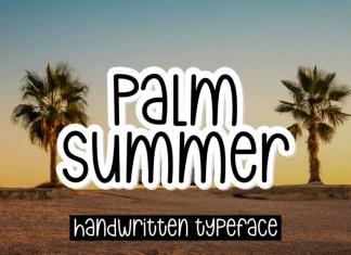 Palm Summer Font