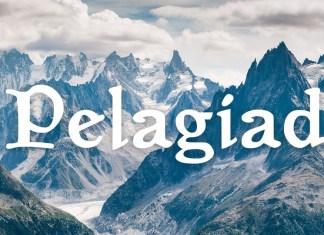 Pelagiad Serif Font