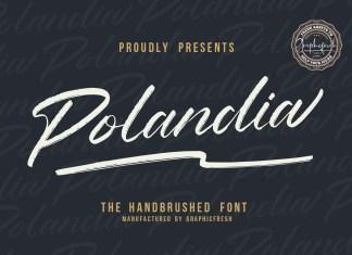 Polandia Brush Font