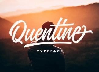 Quentine Script Font