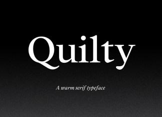 Quilty Serif Font