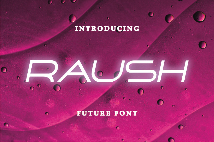 Raush Display Font