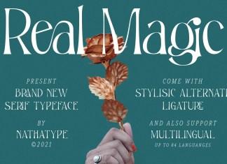 Real Magic Serif Font
