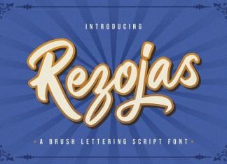 Rezojas Bold Script Font