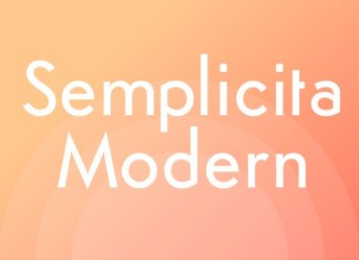 Semplicita Modern Font