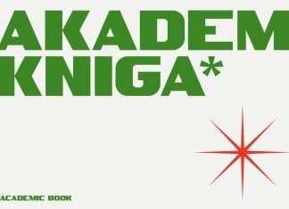 SK Akademkniga Sans Serif Font