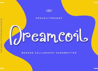 Dreamcoil Script Font