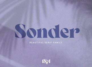 Sonder Serif Font