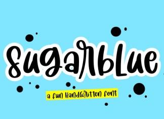 Sugar Blue Font