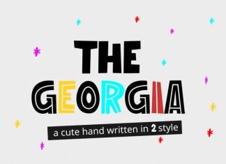 The Georgia Font