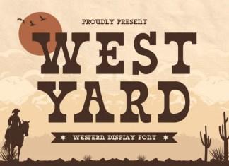 West Yard Slab Serif Font