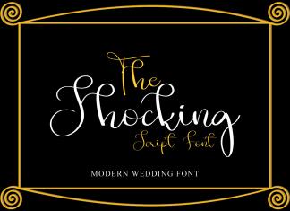 The Shocking Script Font