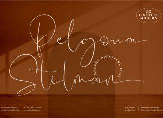 Pelgona Stilman Font