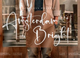 Amsterdam Bright Font