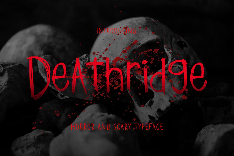 Deathridge Display Font