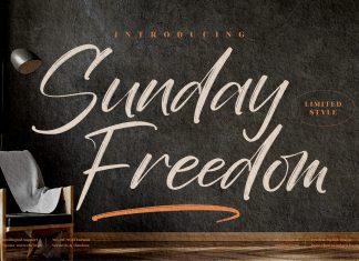 Sunday Freedom Script Font