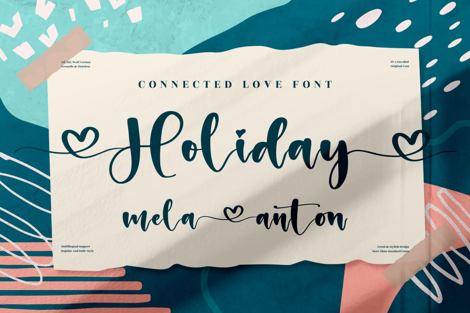Holiday Calligraphy Font