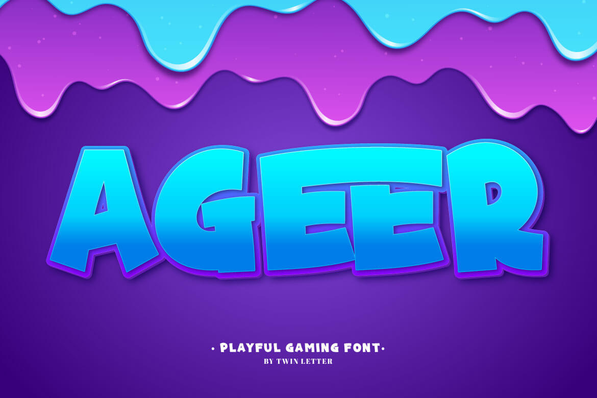 Ageer Display Font