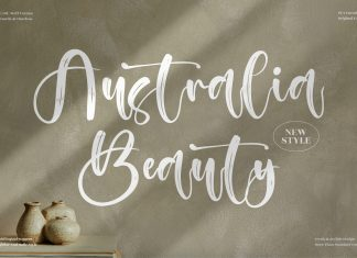 Australia Beauty Script Font