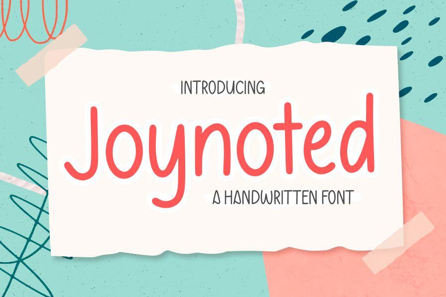 Joynoted Handwritten Font