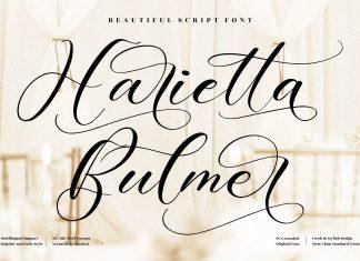 Harietta Bulmer Script Font
