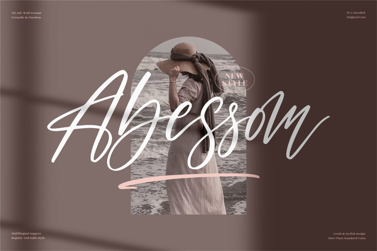 Abessom Script Font