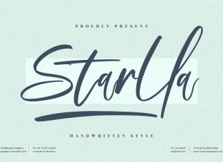 Starlla Script Font