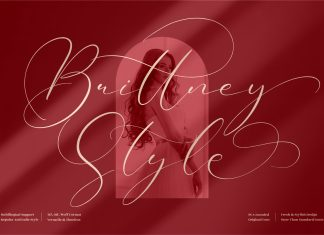 Brittney Style Font
