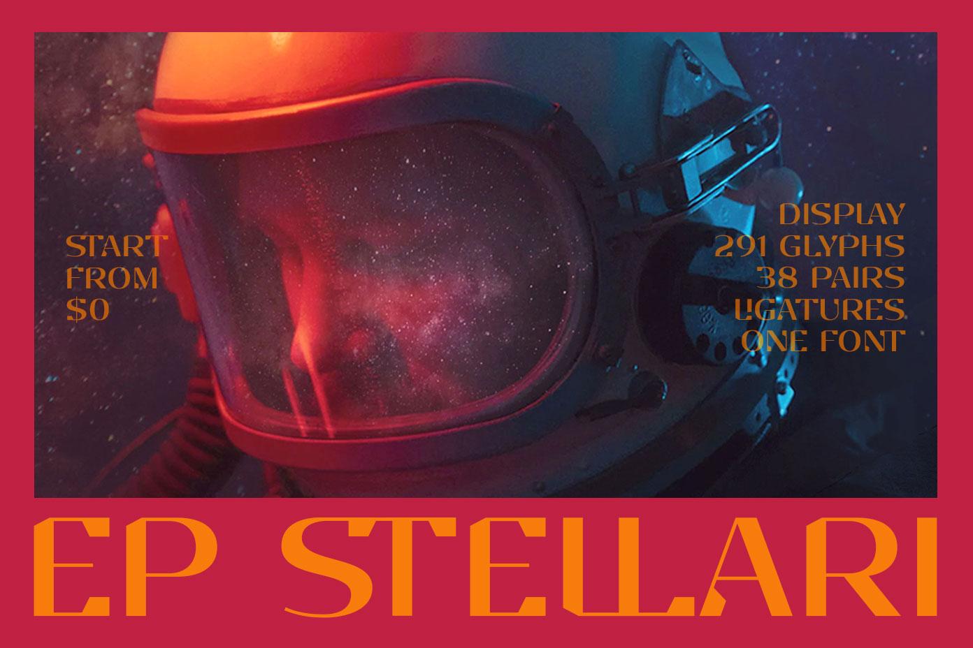 EP Stellari Display Font