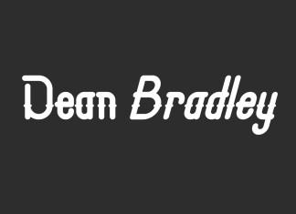 Dean Bradley Display Font