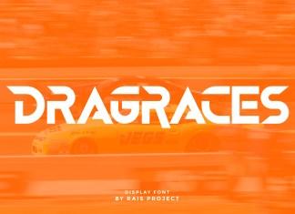 Dragraces Display Font