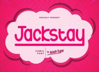 Jackstay Display Font