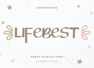 Lifebest Fancy Display Font