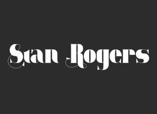 Stan Rogers Display Font