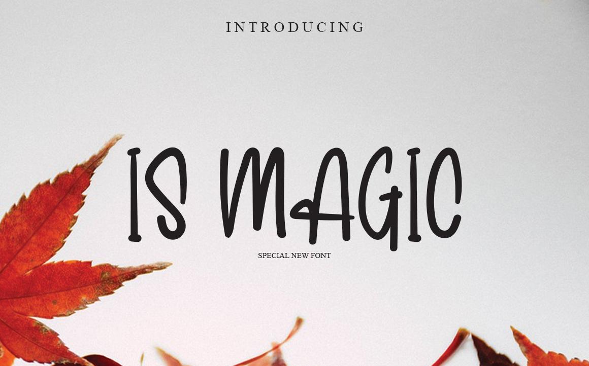 Is Magic Display Font