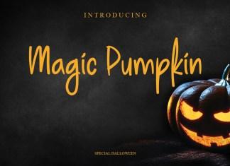 Magic Pumpkin Script Font