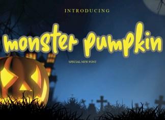 Monster Pumpkin Script Font