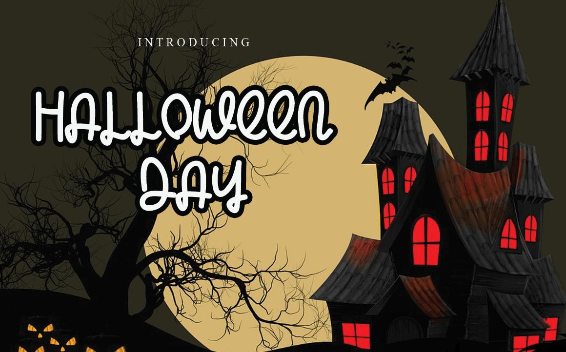 Halloween Day Display Font